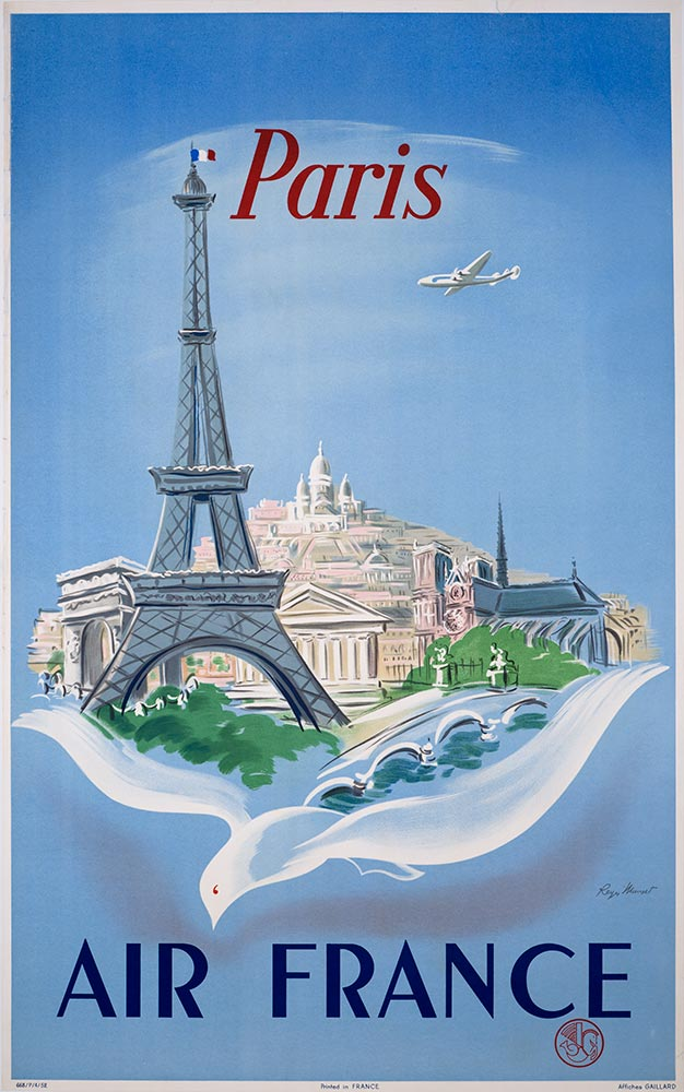 vintage aviation posters
