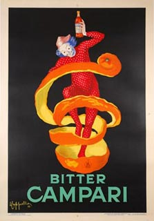 vintage campari poster eBay