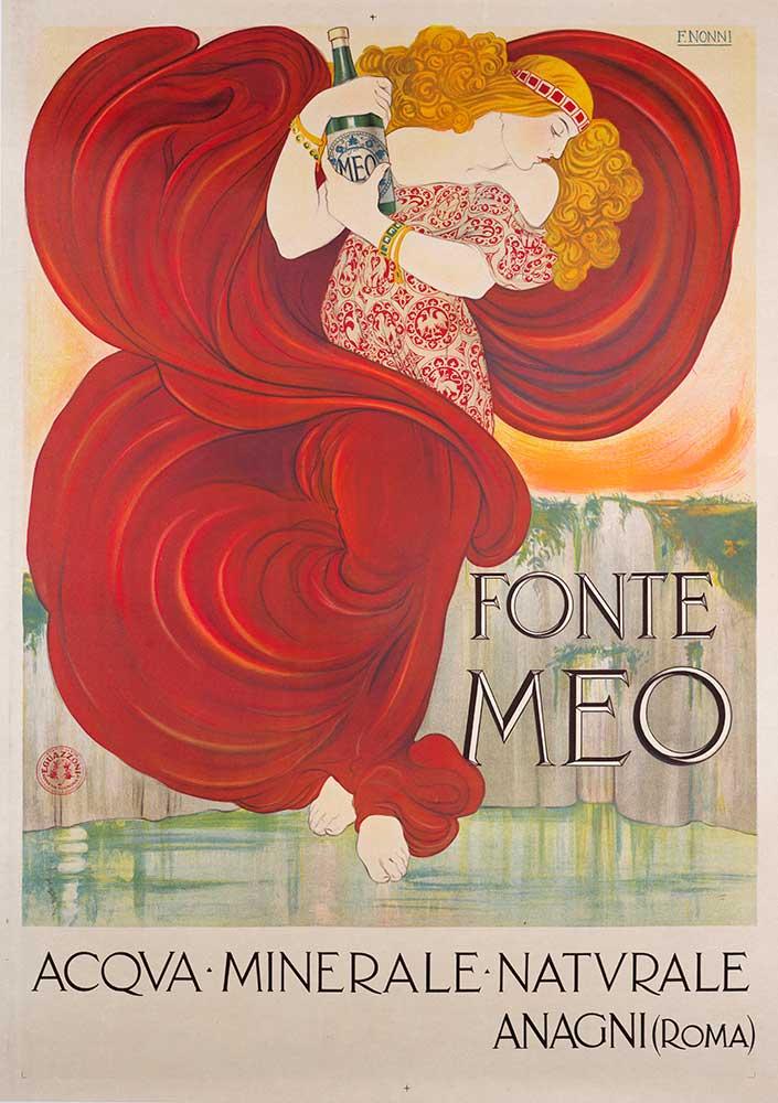 Ben noto Vintage Poster Classis, Manifesti Italiani e Francese  BU47
