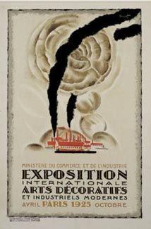 Vintage exposition poster poster classics of france for Poster decoratif