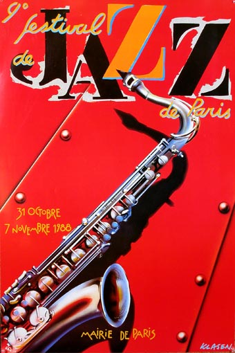 festival jazz paris 1988 klausen