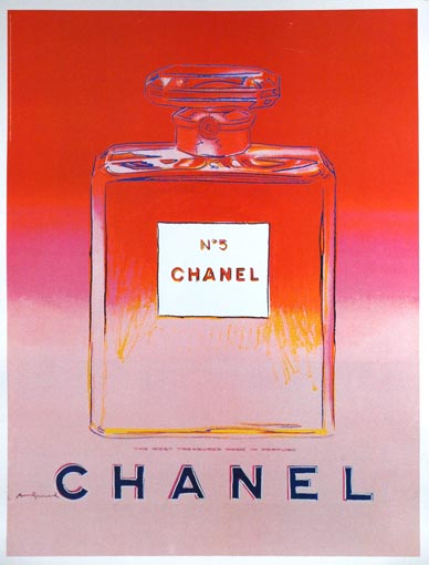 Andy Warhol Posters, Warhol Chanel Poster,