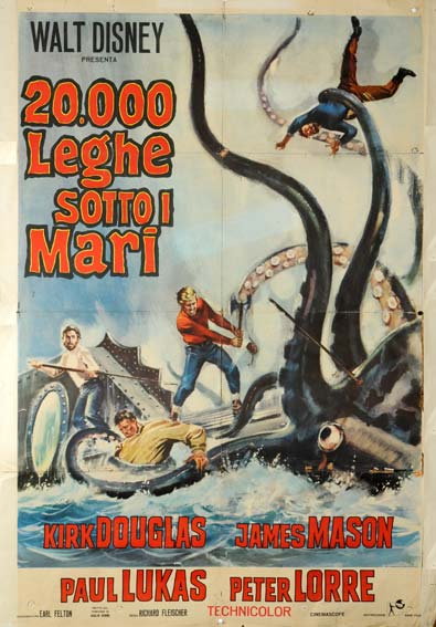 """20000 Leagues Under The Sea Poster 16/""""x24/"""""""