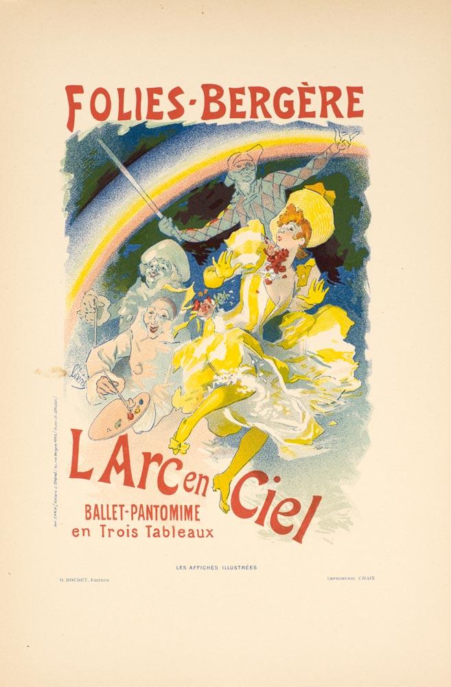 BENZO ENGINE vintage ad poster jules chéret FRANCE elegant ladies 1900