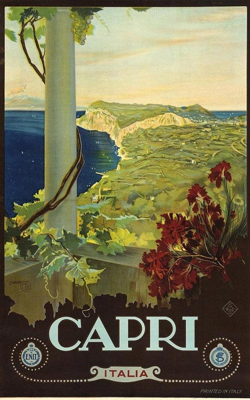 Favorito Vintage Poster Classis, Manifesti Italiani e Francese  QI26