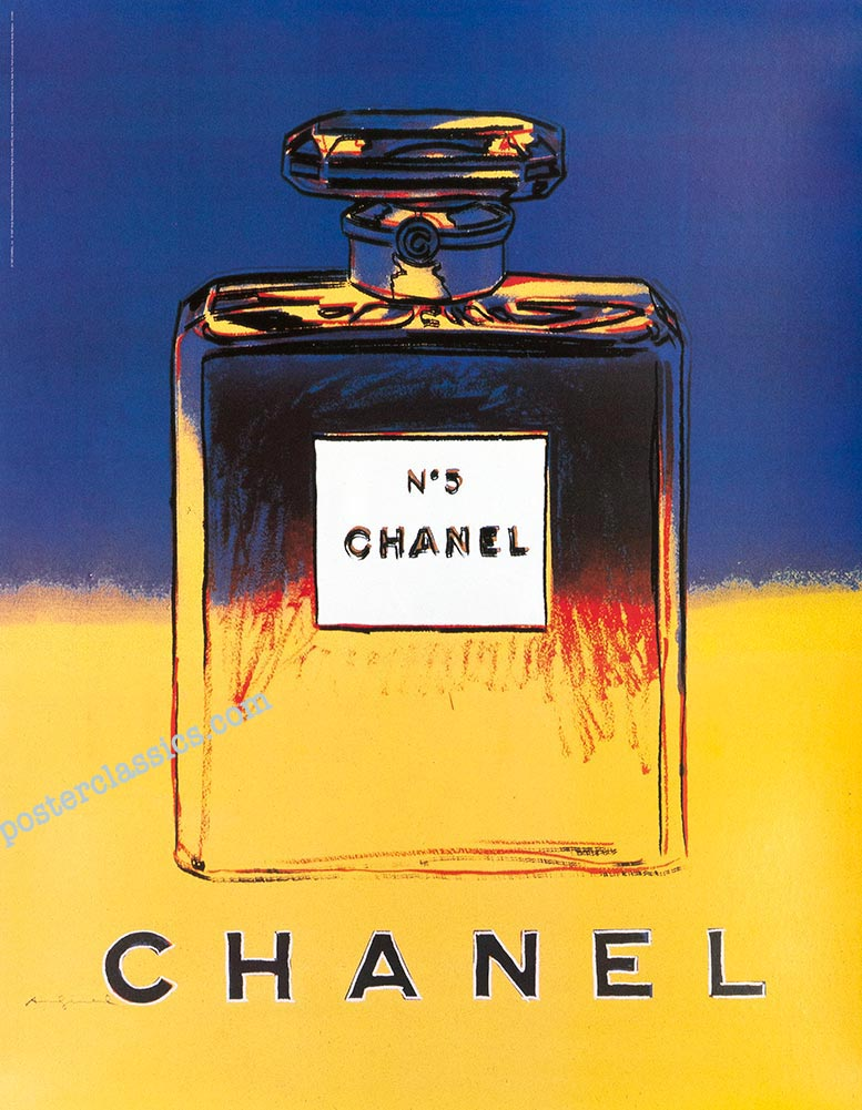 Andy Warhol Posters, Warhol Chanel Posters Prints, Poster Art by Warhol